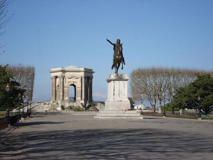Place du Pérou à Montpellier